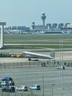 The 'Prinses Amalia' back at Schiphol
